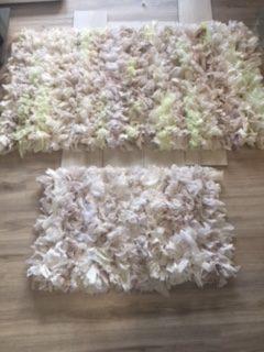 tappeto rag 70x130 cm