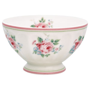 FRENCH BOWL MARLEY WHITE PICCOLA GREENGATE