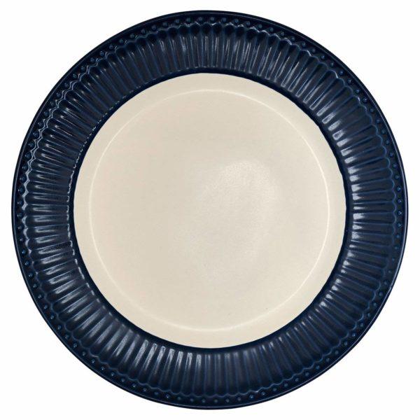 PIATTO FONDO ALICE BLUE