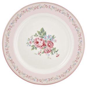 DINNER PLATE MARLEY PINK