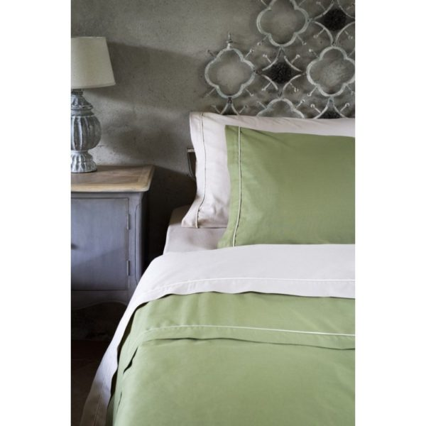lenzuola matrimoniale verde