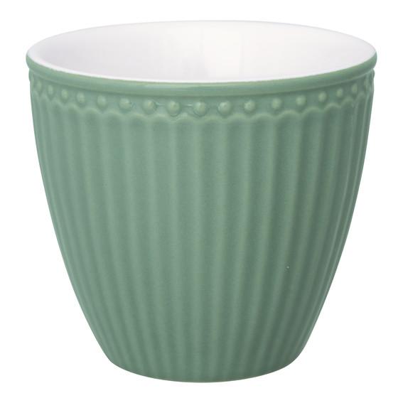 LATTE CUP DUSTY GREEN