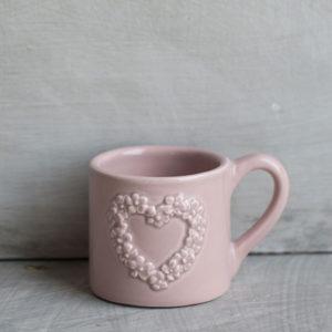 TAZZINA CAFFE' ROSA ANTICO