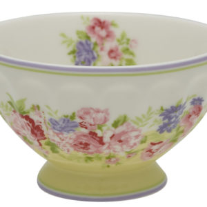 MINI FRENCH BOWL ROSE YELLOW
