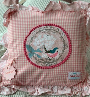 CUSCINO PINK ISABELLE ROSE HOME